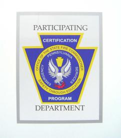 This seal is displayed on FWFC apparatus